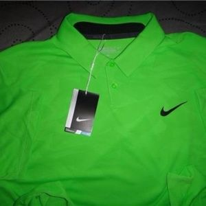 NIKE GOLF POLO SHIRT SIZE XL L MEN NWT $75.00